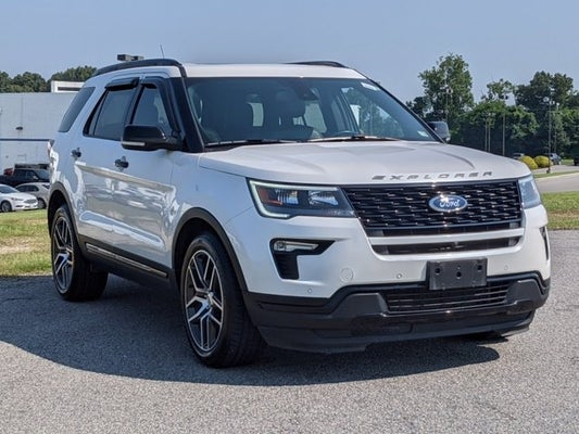 2019 Ford Explorer Sport in Cary, NC | Raleigh Ford Explorer | Crossroads Ford of Cary