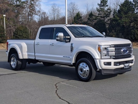 2019 ford super duty f-450 drw platinum in cary, nc - crossroads ford