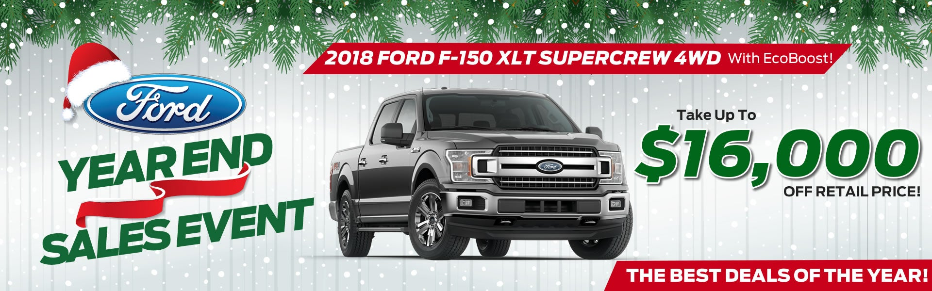 New 2018 ford f 150 supercrew xlt 4wd ecoboost